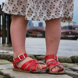 Salt Water - Adorable Red Sandals